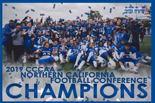 CSM Bulldogs - Northern CA Football Conference Champions