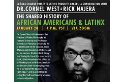 Dr. Cornel West to Speak at Cañada College