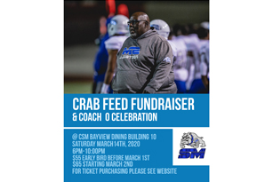 Crab Feed to support Bulldog Football and honor Coach Larry Owens