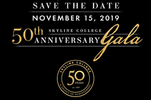Skyline College 50th Anniversary Gala - Save the Date