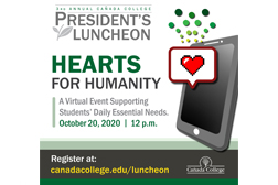 Cañada College President's Luncheon