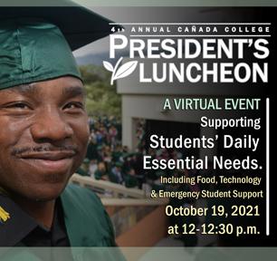 Cañada College President's Luncheon, Virtual